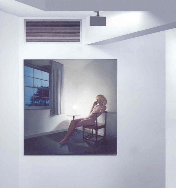 An Annunciation (a), por Richard Hamilton.