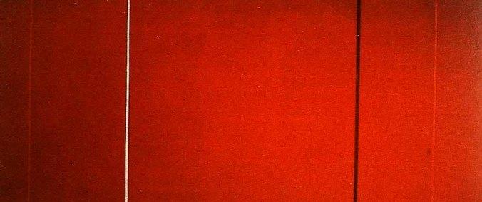 Barnett Newman's «Vir heroicus sublimis».