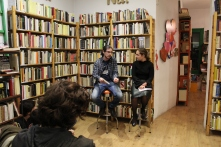 Presento con Leonor Saro 'After Ego' en Arrebato Libros (Madrid)